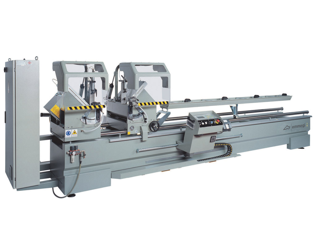 Emmegi Classic Magic Twin Head Cut-off Machine