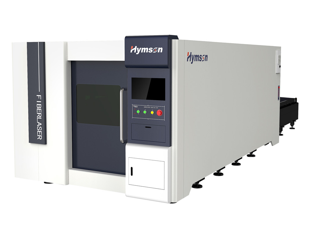 Hymson 4kw Fibre Laser with 3 x 1.5 meter sheet capacity