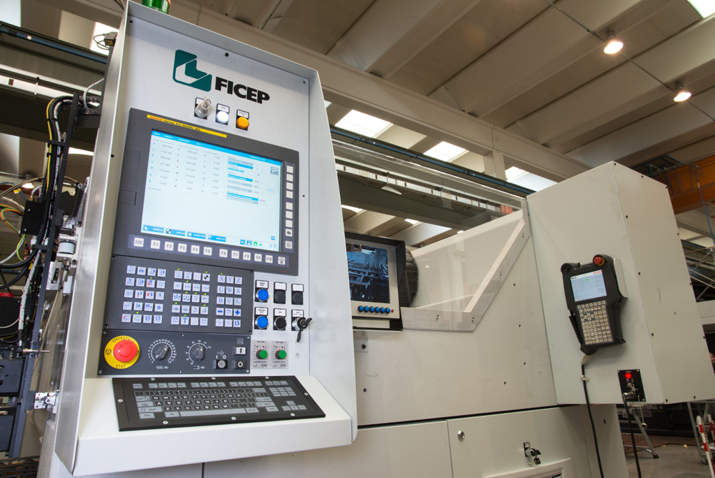 FICEP Tipo G Series CNC Plate Processing Machine Detail 1