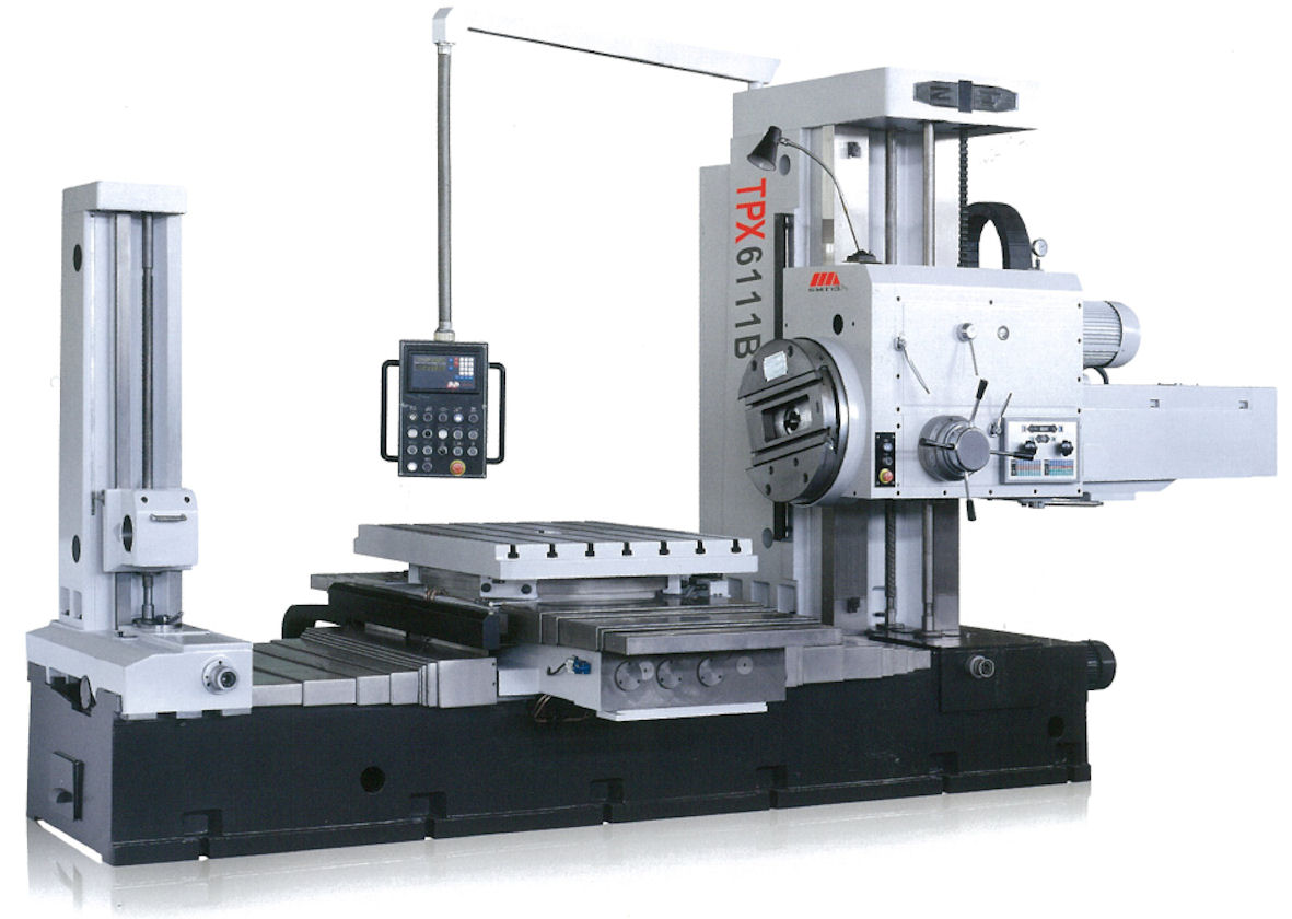 Romac TPX Series Horizontal Boring & Miling Machine