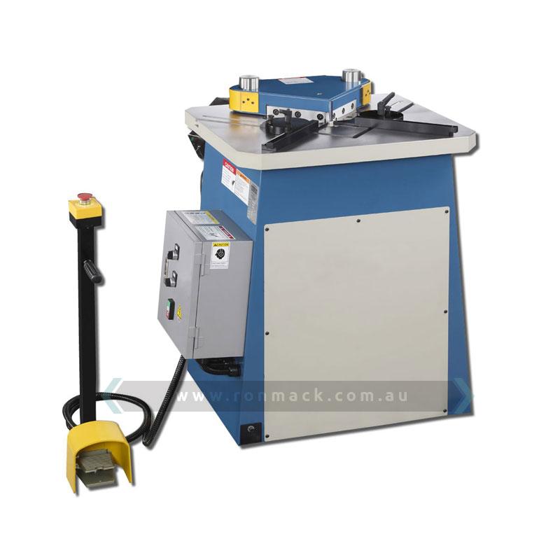 Mild Steel Water Jet Working Belarus: Metalex PN-4200 Hydraulic Notcher