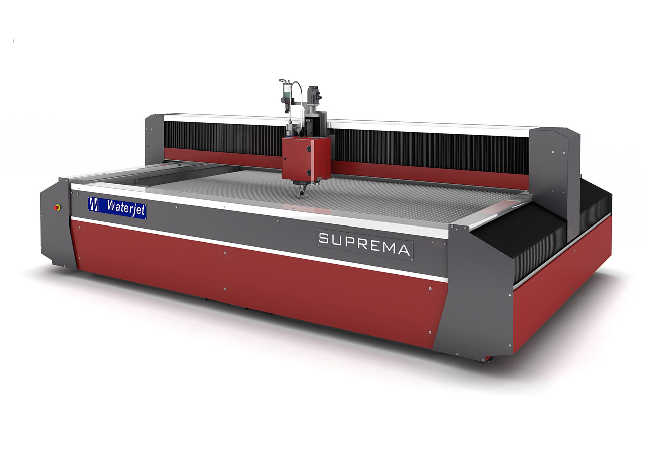 Waterjet Suprema 5-Axis Gantry Type