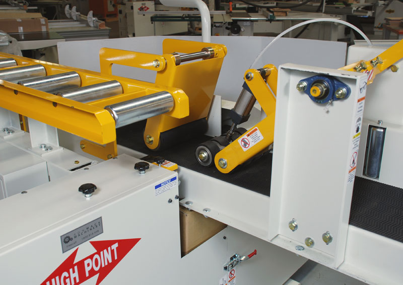 Highpoint HP-11 Band ReSaw Optional Hydraulic Feed Detail