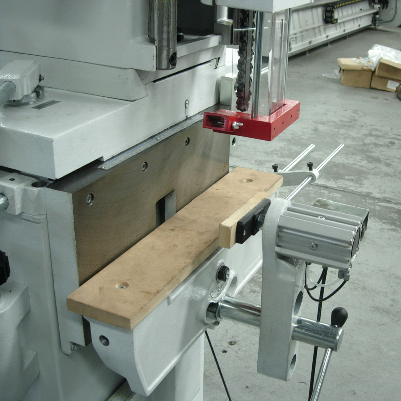 Framar MC40 Chain Mortiser Table Detail